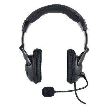Logic Concept Słuchawki Nagłowne LH-40 Black z Mikrofonem