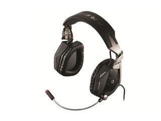 MadCatz Słuchawki z mikrofonem Czarno-srebrny CCB434030002
