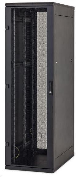 Triton SZAFA RACK 19 DELTA/S 42U 800x1000 RMA-42-A81-BAX-A1 (42U 800x1000mm trzypunktowe zawiasy przeszklone drzwi kolor czarny RAL 9005)