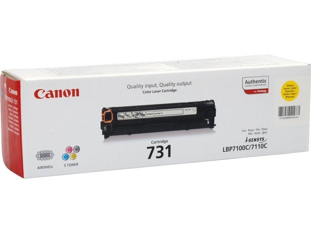 Canon Toner 731 Y | i-SENSYS LBP7100/LBP7110