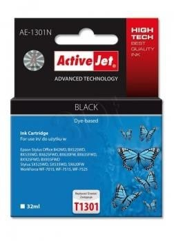 ActiveJet Tusz ActiveJet AE-1301N | Czarny | 32 ml | Epson T1301
