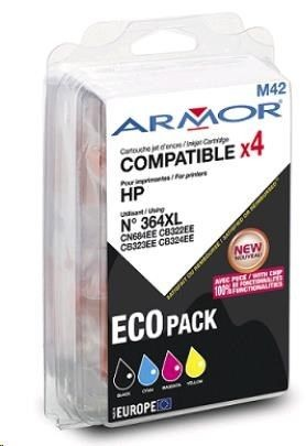 Armor cartridge pro HP B8550,C5380,C6380 1BK+1C+1M+1Y/HC,364XL (OLD B10220R1)