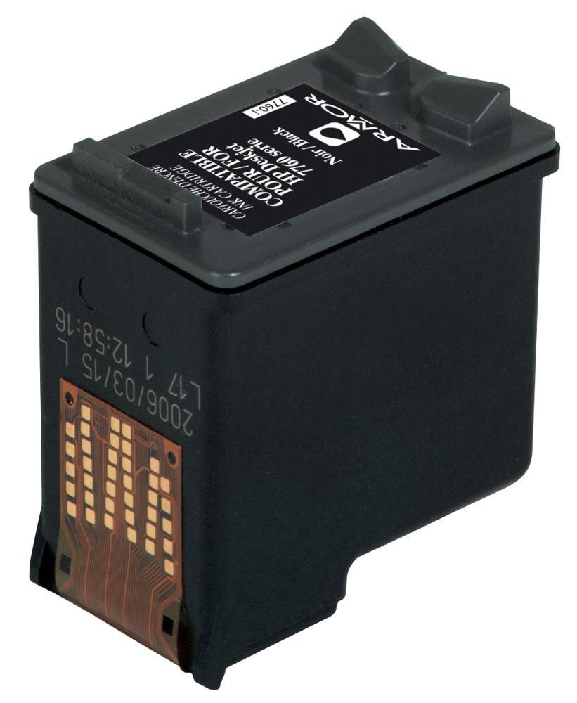 Armor cartridge pro HP DJ F2480/4210/4280 černá, 21 ml (CC641EE)
