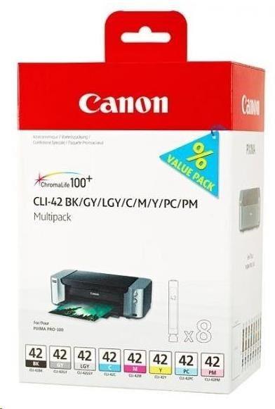 Canon Wkład atramentowy CLI-42 8inks Multi Pack