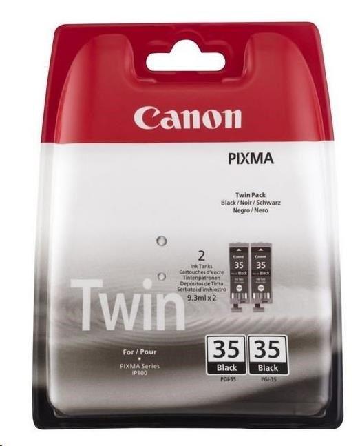 Canon Wkład atramentowy PGI-35 Black Ink Value Twin Pack