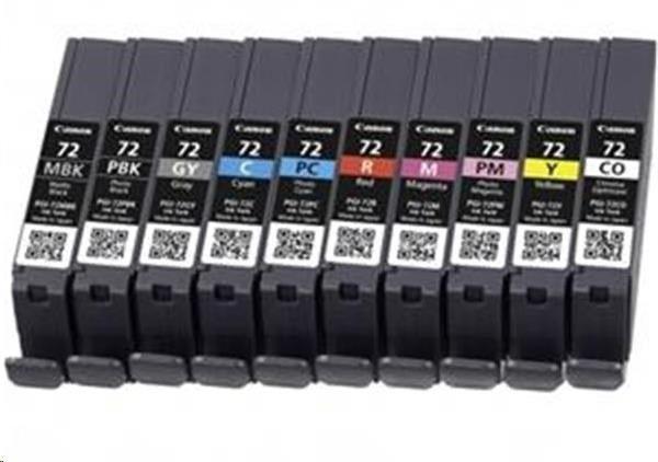 Canon Wkład atramentowy PGI-72 MBK/C/M/Y/R Multi Pack
