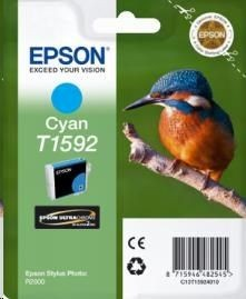 Epson Tusz T1592 Cyan | 17ml | Stylus Photo R2000