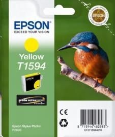 Epson Tusz T1594 Yellow | 17ml | Stylus Photo R2000