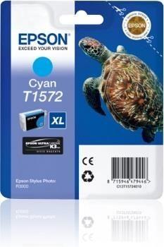 Epson Tusz T1572 Cyan | 25,9 ml | R3000