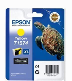 Epson Tusz T1574 Yellow| 25,9 ml | R3000