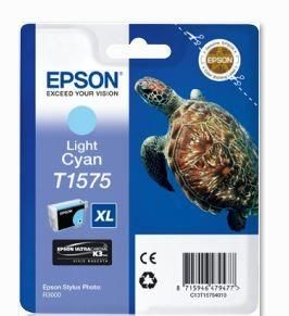 Epson Tusz T1575 Light Cyan | 25,9 ml | R3000
