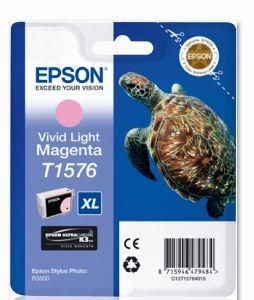 Epson Tusz T1576 Vivid Light Magenta | 25,9 ml | R3000