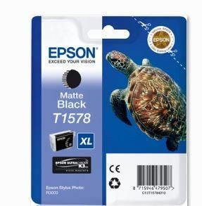 Epson Tusz T1578 Matte Black | 25,9 ml | R3000