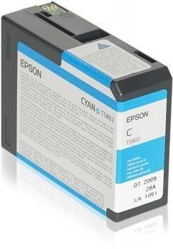 Epson Tusz T5802 Cyan | 80 ml | Stylus Pro 3880