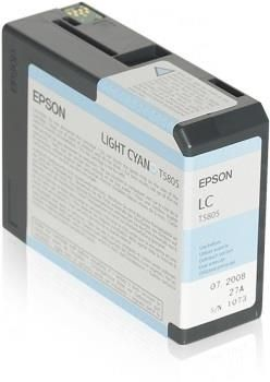 Epson Tusz T5805 Light Cyan | 80 ml | Stylus Pro 3880