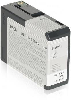 Epson Tusz T5809 light light black| 80 ml | Stylus Pro 3880