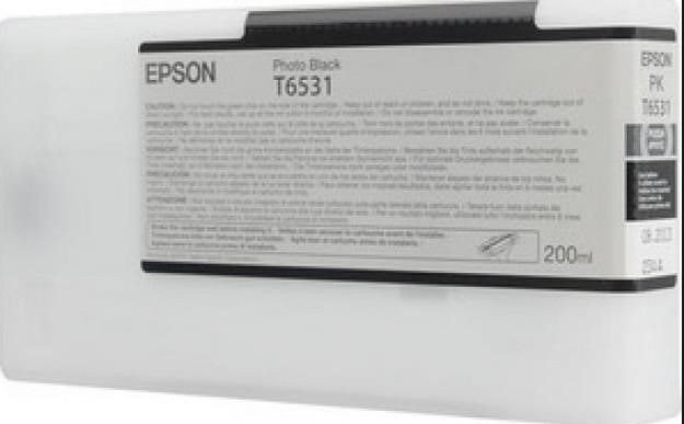 Epson Tusz T6531 Photo Black | 200 ml | Stylus Pro 4900