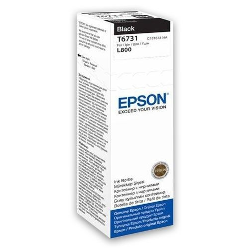 Epson Tusz T6731 black | 70 ml | L800