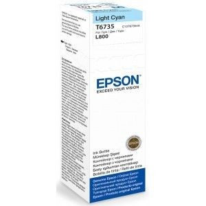 Epson Tusz T6735 light cyan | 70 ml | L800