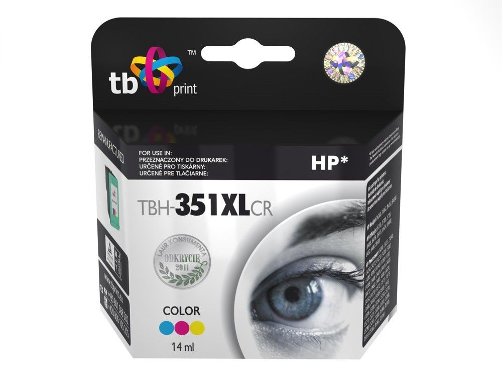 TB Print Tusz do HP DJ D4260 TBH-351XLCR Kolor ref.