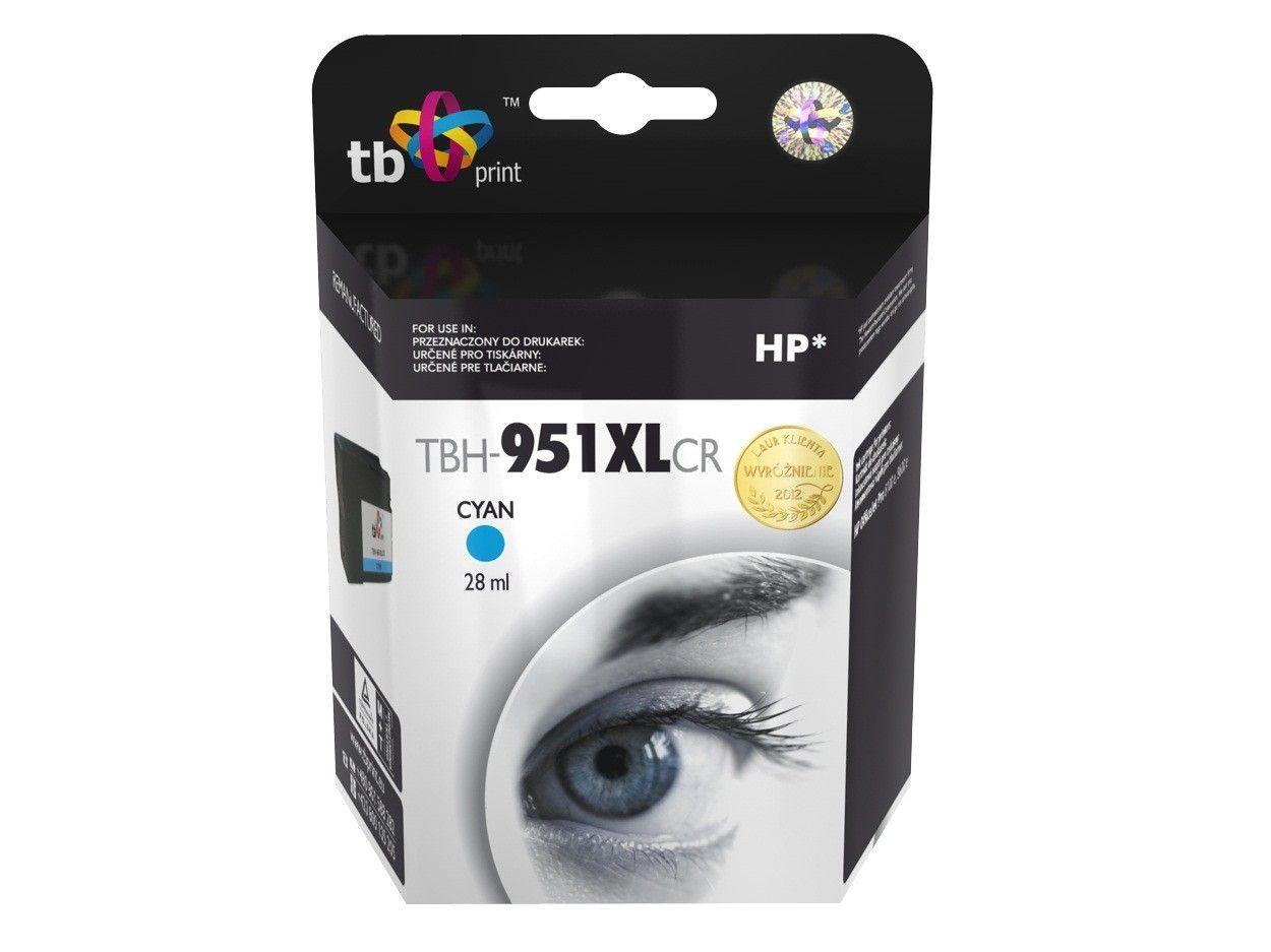 TB Print Tusz do HP OJ Pro 8100 TBH-951XLCR CY ref.