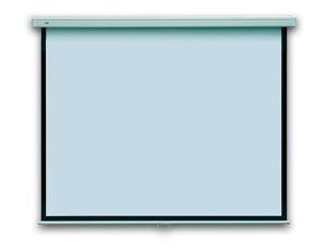 2x3 Zestaw Ekran POP manualny, ścienny 128x171 (użytkowa 122x165)+wskaźnik laser WL0
