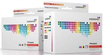 Colorovo Photopack | Atramenty + 20 kartek papieru foto | Canon PGI-525, CLI-526