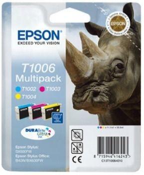 Epson Zestaw T100 CMY MultiPack DURABrite Ultra BLISTER | 3x11.1ml | St...