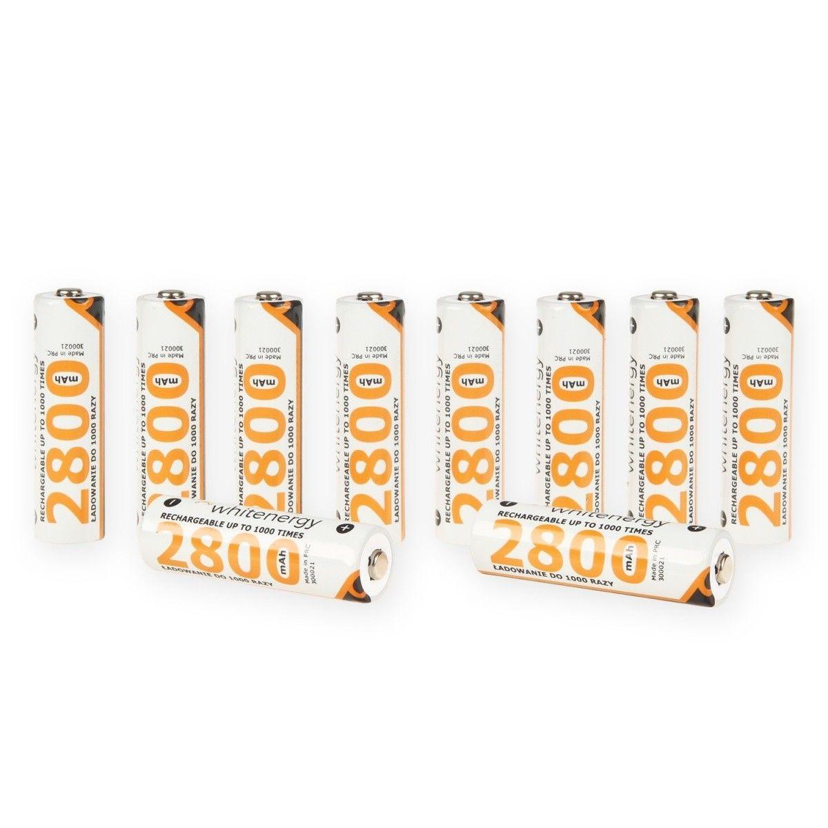Whitenergy akumulatory - baterie AA/R6 2800mAh 10szt - blister