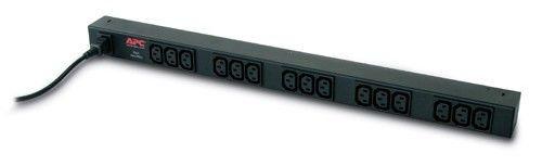 APC rack 19'' Basic PDU, ZeroU, 10A/230V, 15 gniazd C13