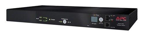 APC Rack ATS, 16A, 230V, (2)IEC 309 in, (1)IEC 309 Out