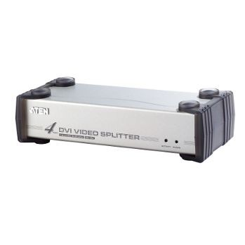 Aten Video Spliter DVI + Audio 4 portowy