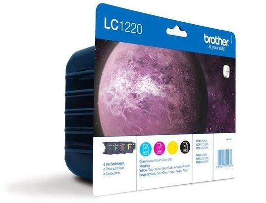 Brother Zestaw LC1220 CMYK Blister Pack | 300str | DCP-J925DW / MFC-J625DW