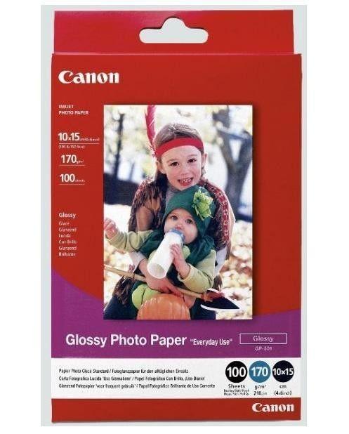 Canon BJ MEDIA GP-501 4X6 100 sheets glossy