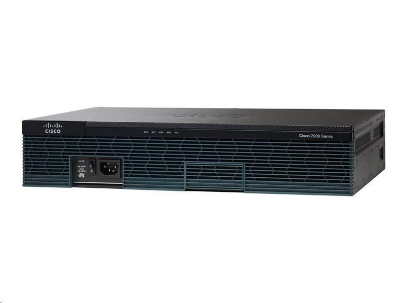 Cisco Systems Router 2911 w/3 GE,4 EHWIC,2 DSP,1 SM,256