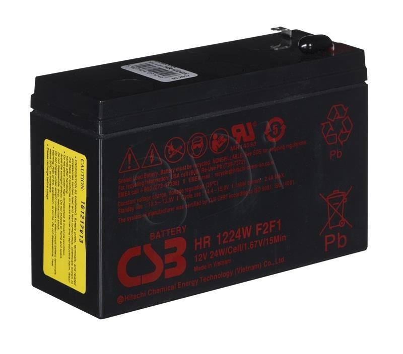 Fideltronik Akumulator Do Ups Fideltonik HR1224 ( 12V 6400mAh )
