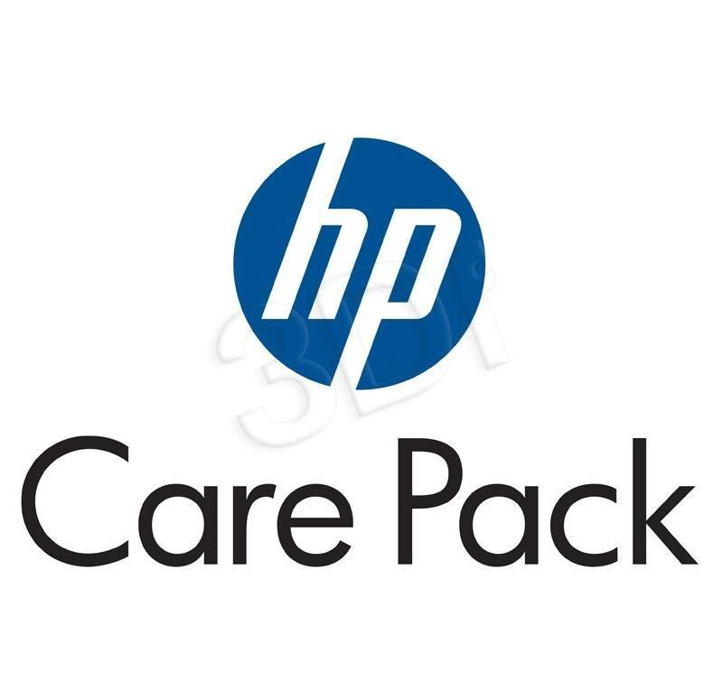 HP Carepack UK707A - 3 lata / Pickup&Return / Notebook Only