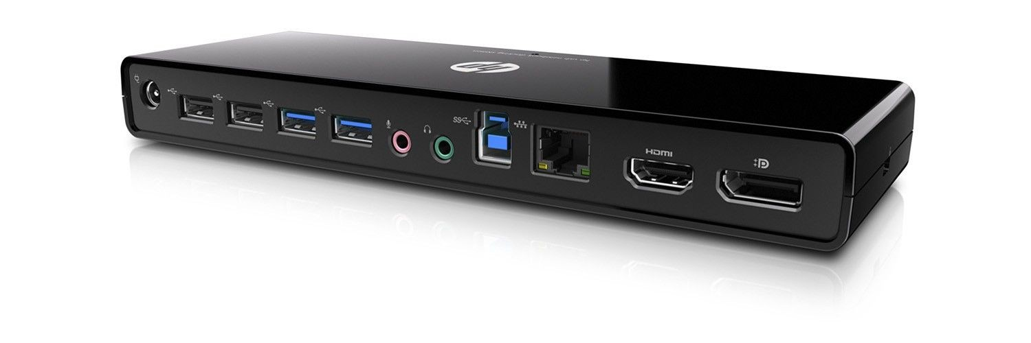 HP USB 3.0 Port Replicator H1L08AA
