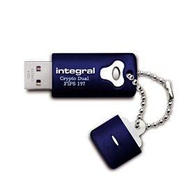 Integral pamięć USB CRYPTO DUAL 32GB - Szyfrowanie Sprzetowe AES 256BIT, FIPS197