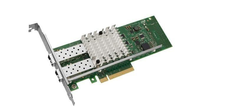 Intel Ethernet Server Adapter X520-DA2 -Dual port direct attach svr adapter
