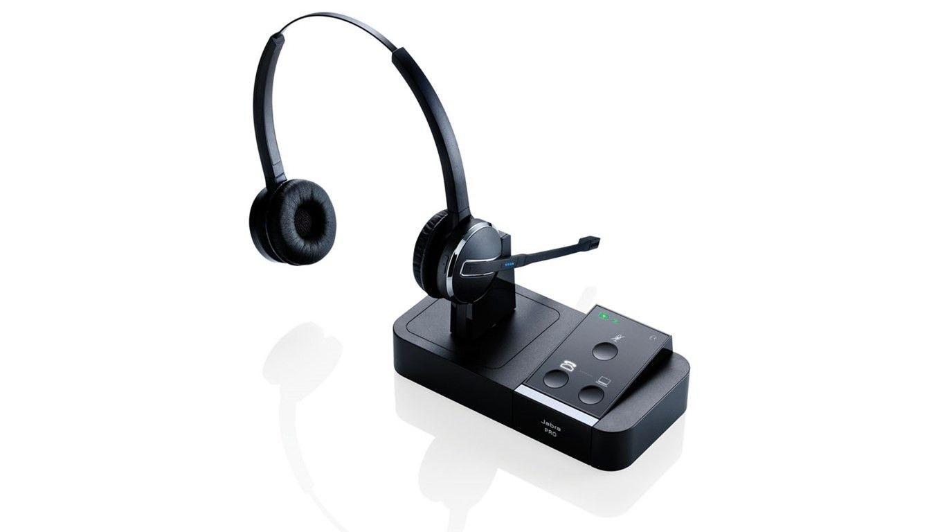 Jabra PRO 9450 Duo DECT Softphone, NC, Wideband