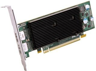 Matrox M9128 1GB , 2xDisplayPort, PCI-Express x16 low profile