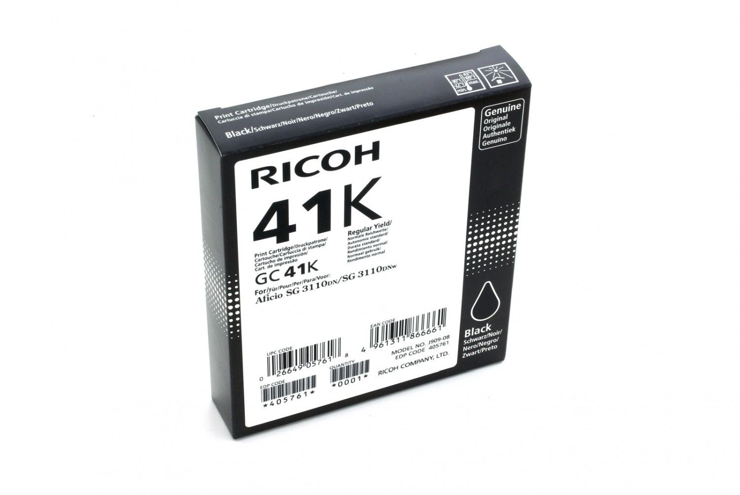 Ricoh Print Cartridge GC 41K
