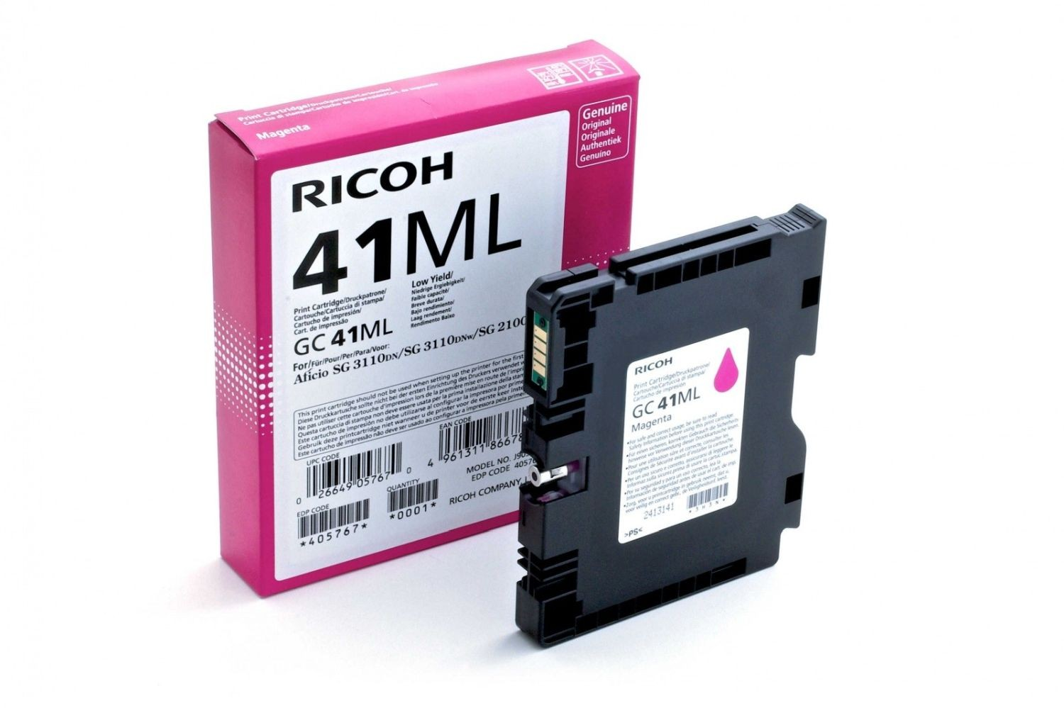 Ricoh Print Cartridge GC 41ML