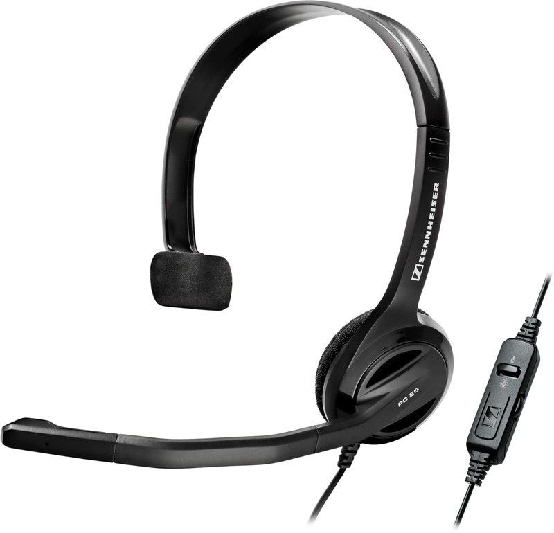 Sennheiser SENNHEISER PC 26 CALL CONTROL Multimedialny zestaw słuchawkowy z mikrofonem dla aplikacji VoIP