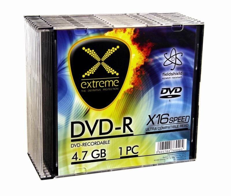 Extreme DVD-R 4.7GB 16x (slim case, 10szt)