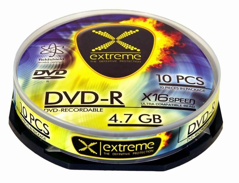 Extreme DVD-R 4.7GB 16x (cake box, 10szt)