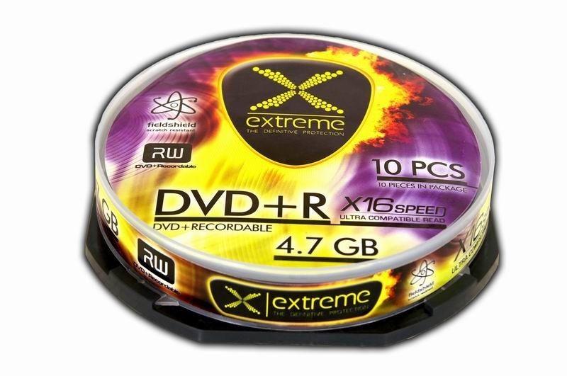 Extreme DVD+R 4.7GB 16x (cake box, 10szt)