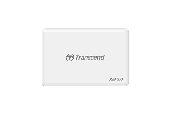 Transcend czytnik kart USB3.0 All-in-1 Multi Card Reader White