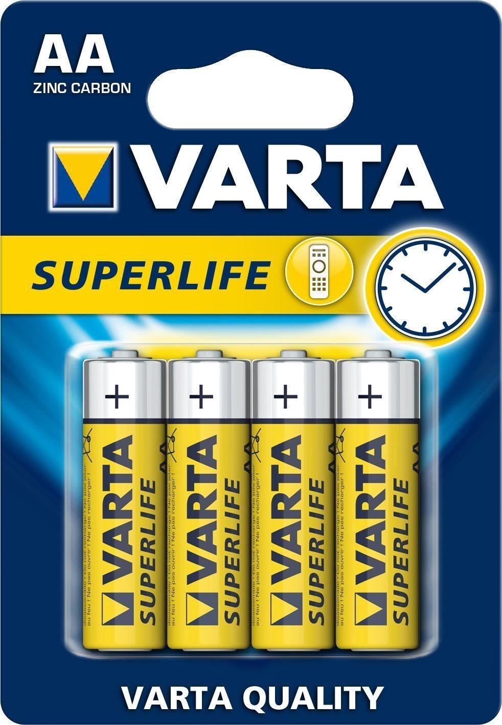 VARTA Baterie Varta Superlife, Mignon R6P/AA - 4 szt